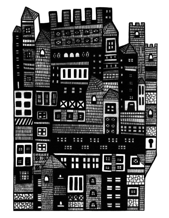 Neighborhood II Art Print