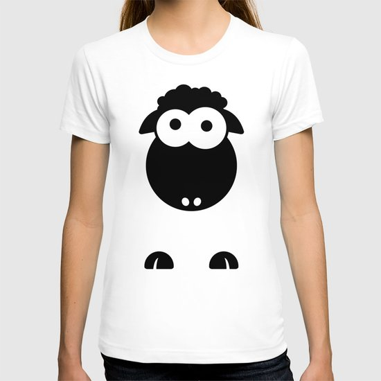 Minimal Sheep T-shirt