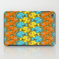 Something is Nicely Fishy Here! iPad Case