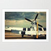 P-51 Art Print
