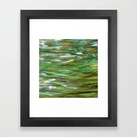 The Swim Framed Art Print
