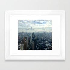 NYC dreams Framed Art Print