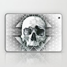 Stippling Skull Laptop & iPad Skin
