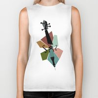 Bach - Cello Suites Biker Tank