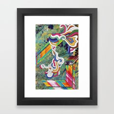 Psychedelic Emporium Framed Art Print