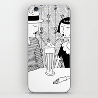 They Shared A Chocolate … iPhone & iPod Skin