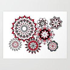 Zen Circles VII Art Print