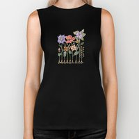 Progress Flowers Biker Tank