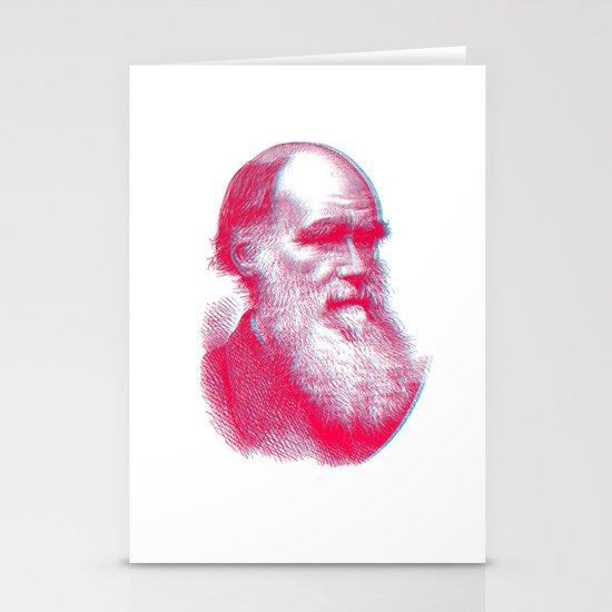 Charles Darwin Stationery Card