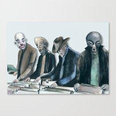 Vinyl Resurgence Canvas Print