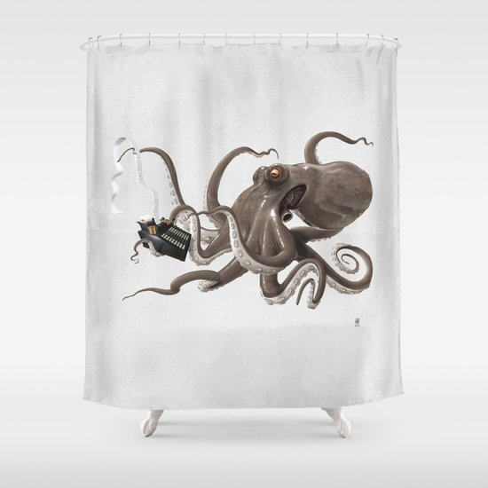 Count to Ten (wordless) Shower Curtain