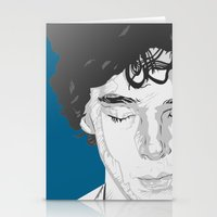 Sherlock Close-Up Stationery Cards