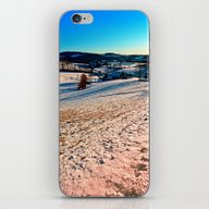 Smooth Hills In Winter W… iPhone & iPod Skin