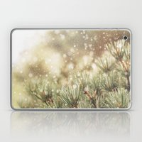 snow on pine Laptop & iPad Skin