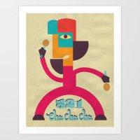 521 CHA CHA CHA Art Print