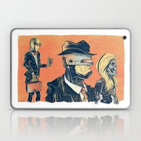 White Collar Robots Laptop & iPad Skin