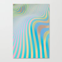 More Waves Canvas Print