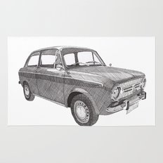 Fiat 850 Rug
