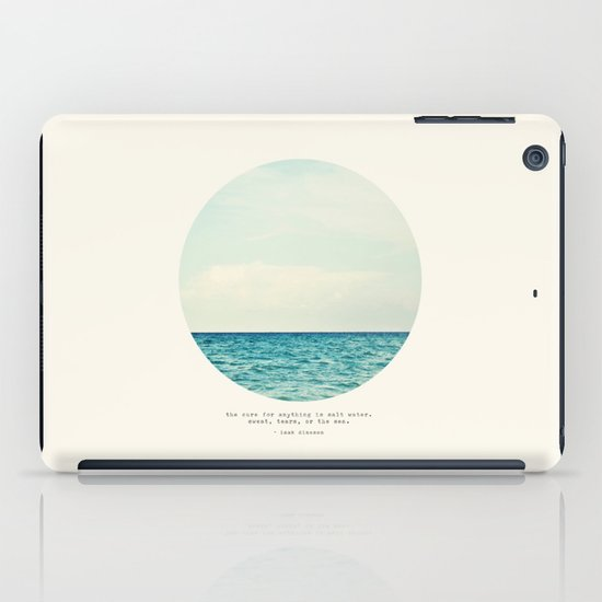 Salt Water Cure iPad Case