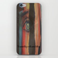 The Important Thing is Not the Camera but the EYE iPhone & iPod Skin