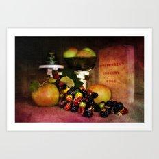 In the Kitchen. Art Print