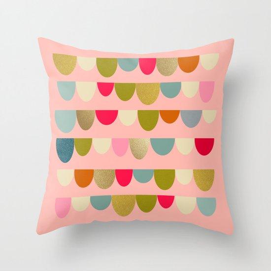 Delightful Rue II Throw Pillow