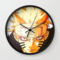 Naruto: Sage Beast Mode Wall Clock