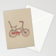 Aztec Bicycle Stationery Cards