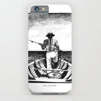Māori Harpooner iPhone 6 Slim Case