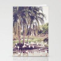 Flamingo Island Stationery Cards
