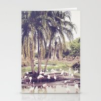 Flamingo Island Stationery Cards