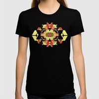 Totem 1, 2015 Womens Fitted Tee Black SMALL