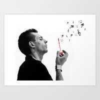 FREE YOUR MUSIC Art Print