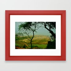 peaceful place Framed Art Print