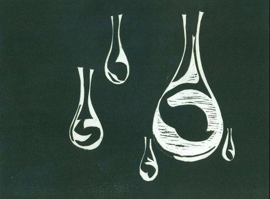 Raindrops #3 Art Print
