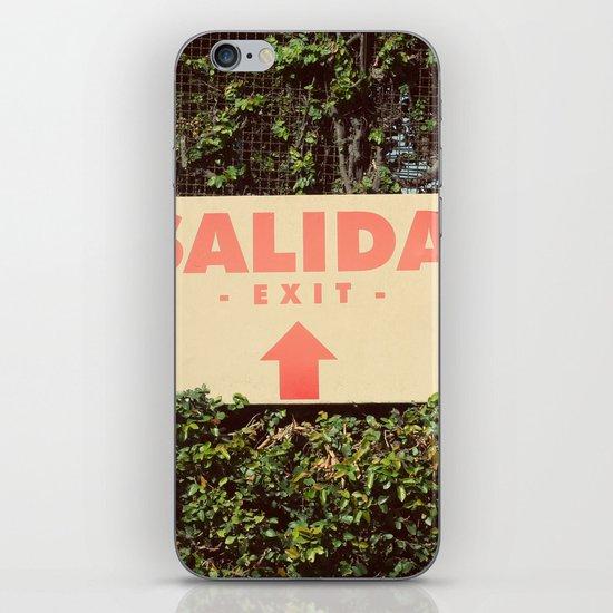 Salida iPhone & iPod Skin