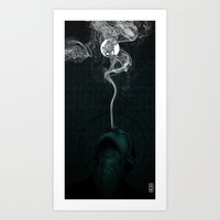 The Plague Art Print