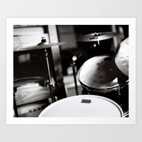 Drums Art Print