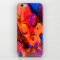 Abstract Gasmask iPhone & iPod Skin