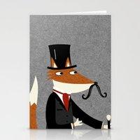 Sir Fox Stationery Cards