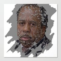 Stanley Hudson, The Office Canvas Print