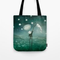 Tote Bag featuring For every dream of Yours! by Ruta13