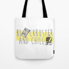 BlockBuster and Chill Tote Bag