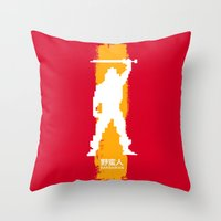 Barbarian: The Ultimate … Throw Pillow