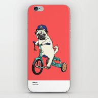 iPhone & iPod Skin featuring Haters by Huebucket