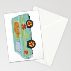 Mystery Machine - Scooby-Do!  I/III Stationery Cards