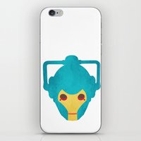 Colorful Cyberman Doctor… iPhone & iPod Skin