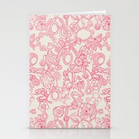 Charming Pink Stationery Cards