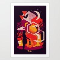 Illuminates Art Print