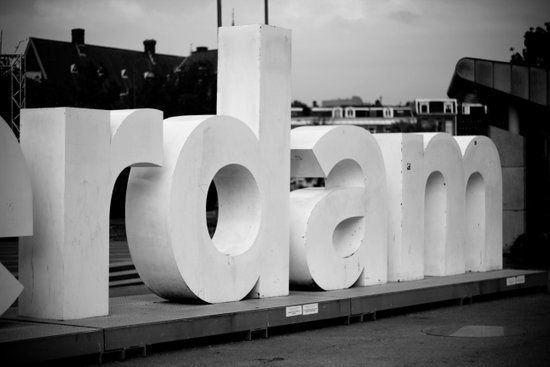 Rotterdam. Art Print